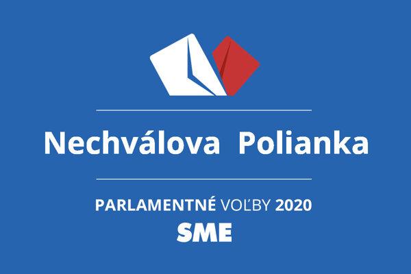 Výsledky volieb 2020 v obci Nechválova  Polianka