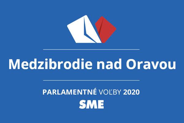Výsledky volieb 2020 v obci Medzibrodie nad Oravou