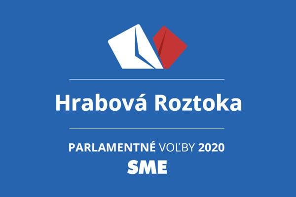 Výsledky volieb 2020 v obci Hrabová Roztoka