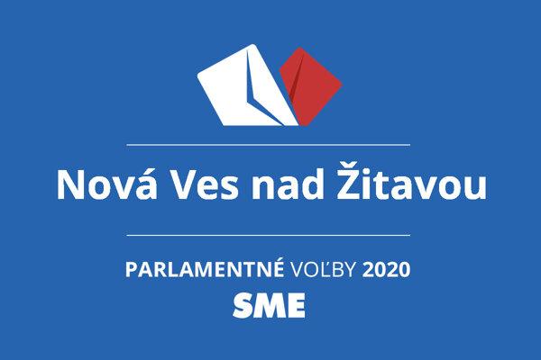 Výsledky volieb 2020 v obci Nová Ves nad Žitavou