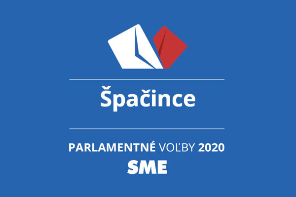 Výsledky volieb 2020 v obci Špačince