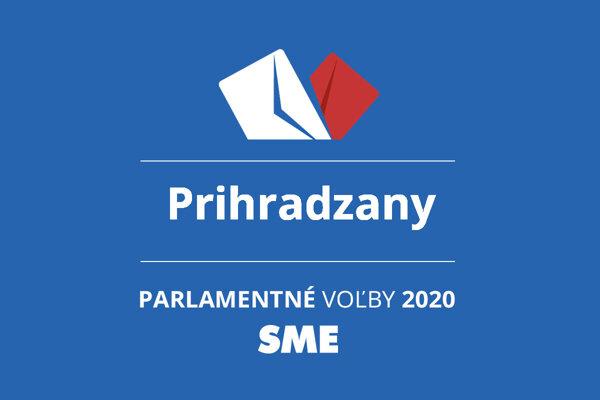 Výsledky volieb 2020 v obci Prihradzany