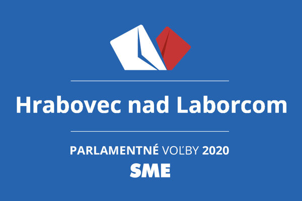 Výsledky volieb 2020 v obci Hrabovec nad Laborcom