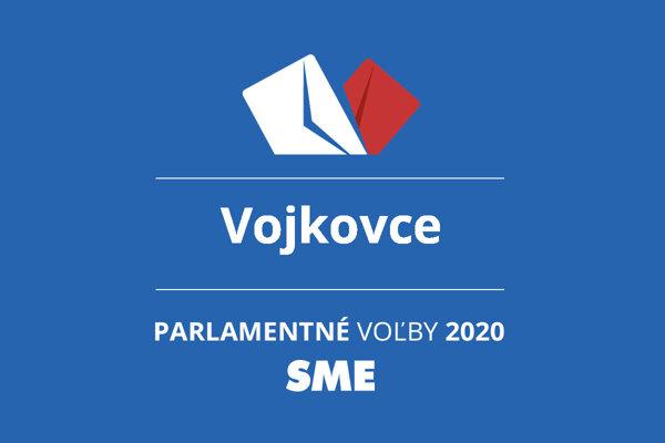 Výsledky volieb 2020 v obci Vojkovce