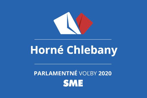 Výsledky volieb 2020 v obci Horné Chlebany