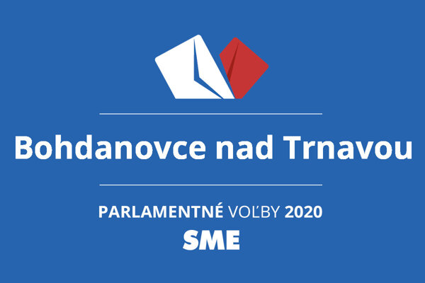 Výsledky volieb 2020 v obci Bohdanovce nad Trnavou