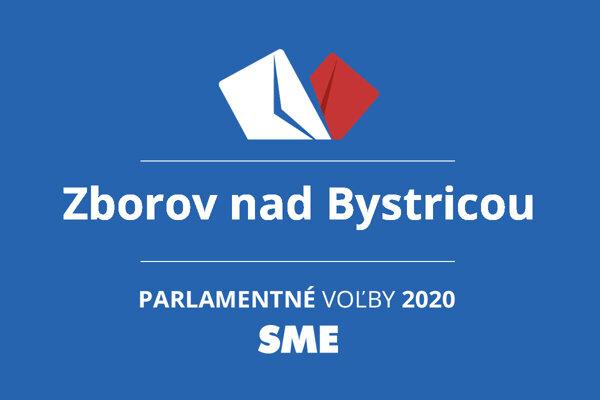 Výsledky volieb 2020 v obci Zborov nad Bystricou