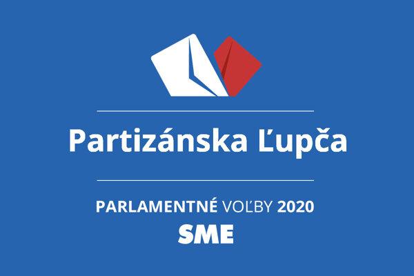 Výsledky volieb 2020 v obci Partizánska Ľupča