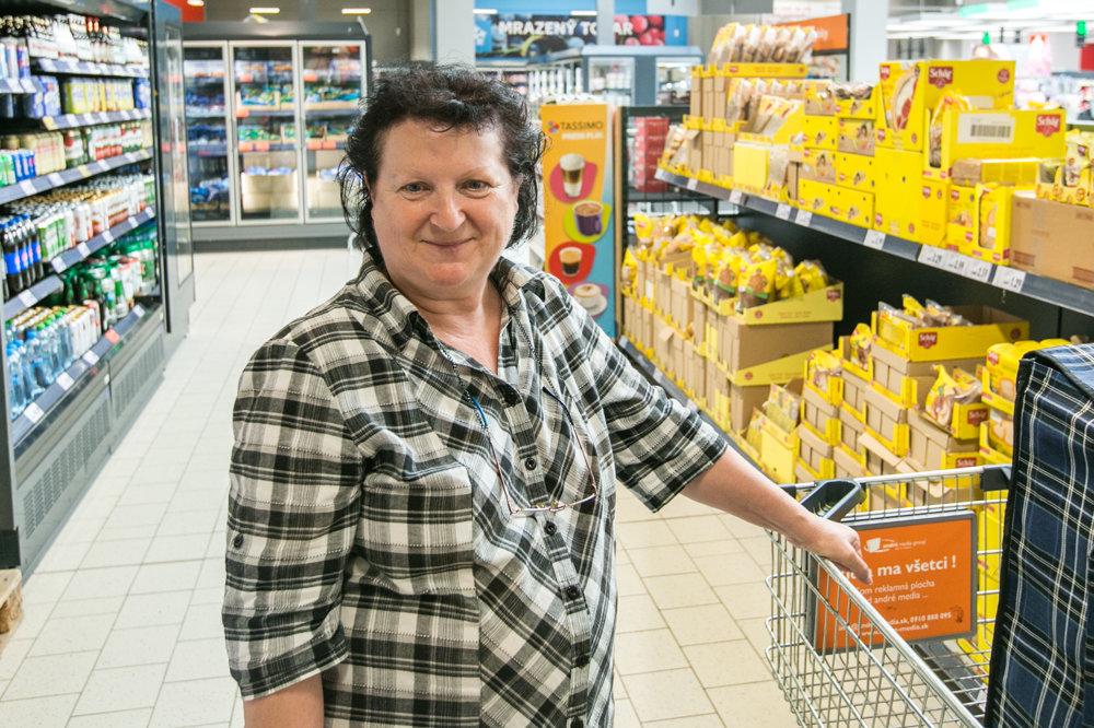 Pre pani Annu je dôležitá v prvom rade cena a pôvod potravín, ktoré nakupuje.