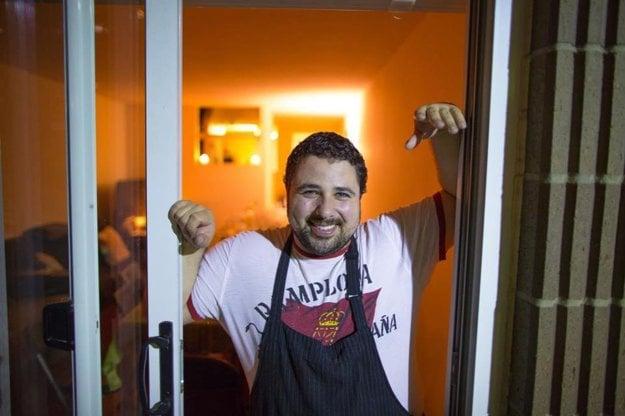 Sám šéfkuchár David Santos.