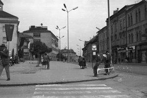 1966 - Námestie Štefana Moyzesa