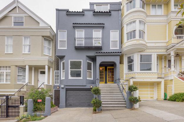 Domček v San Franciscu.