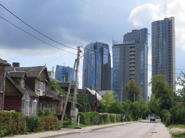 Kroky alternatívnej prehliadky vo Vilniuse vedú aj do nie úplne bezpečnej časti Šnipiškės