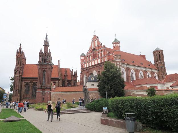 Kostol Sv. Anny je vo Vilniuse jeden z najkrajších
