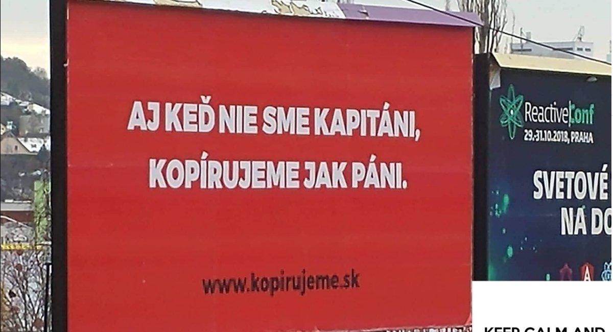 Tlačiareň sa vtipnou reklamou baví na Dankovej rigorózke - fici.sme.sk