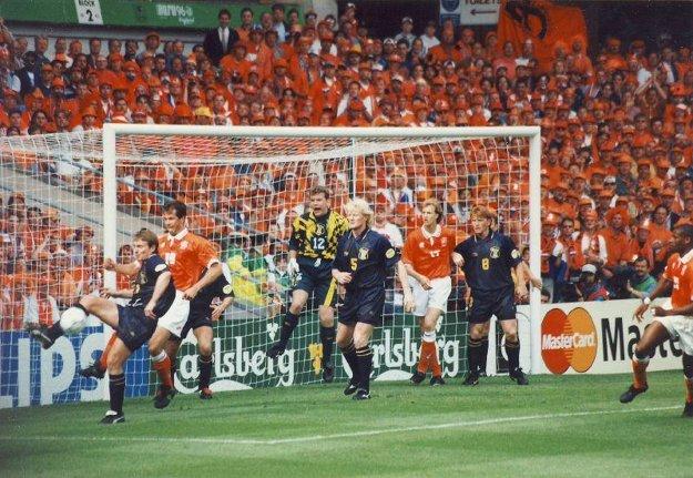 Zápas Škótsko - Holandsko