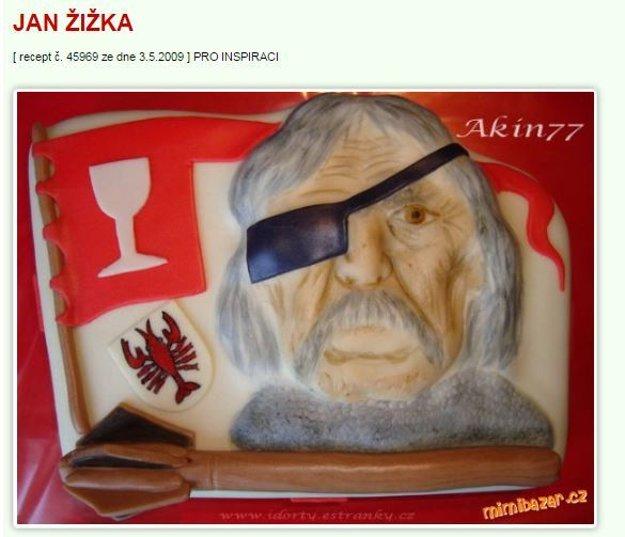 zizka torta Mimibazar.cz