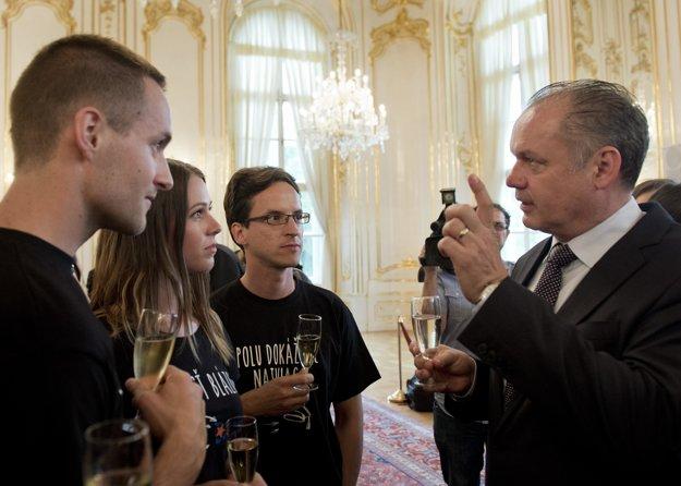 Prezident na stretnutí s TFS