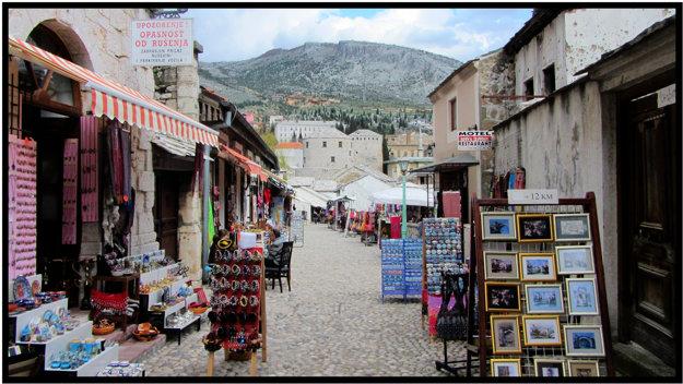 Bazár v Mostare