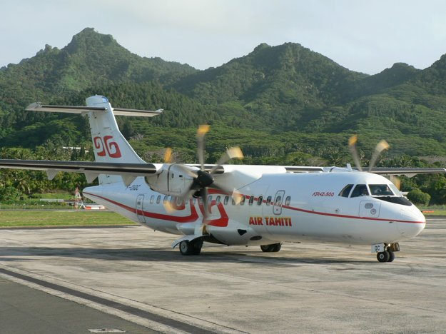 Stroj ATR-42-500 spoločnosti Air Tahiti