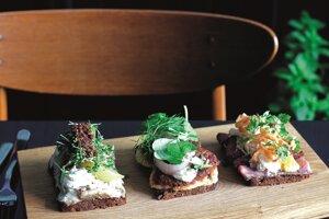6. Smørrebrød v dánskej Kodani