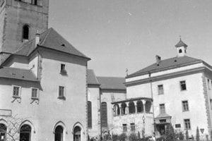 1961 - Barbakán Mestského hradu