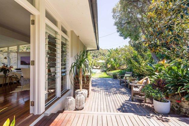 Dom blízko pláže v Sydney.