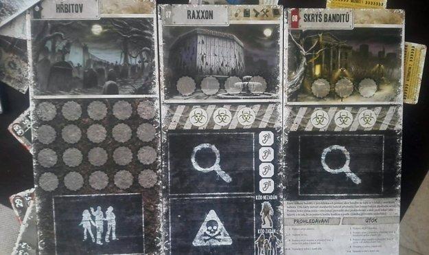 tri nové lokácie hry