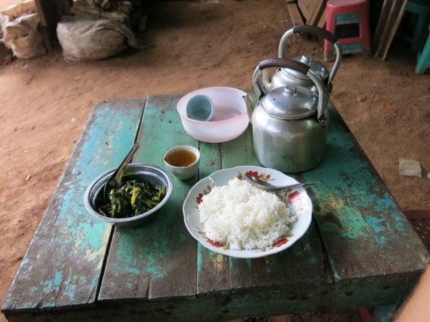 Hogyho obed v Mjanmarsku