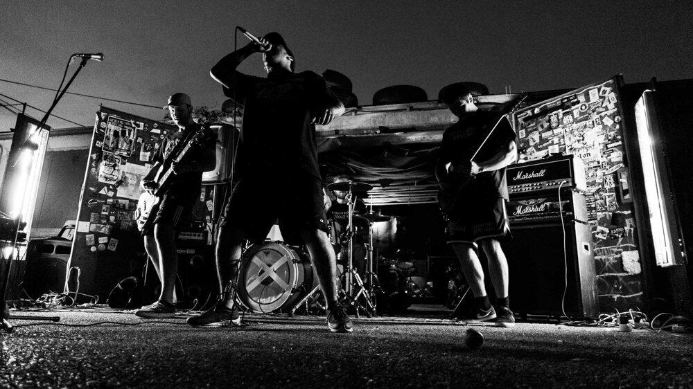 August 2019 - Koncert pri bratislavských garážach