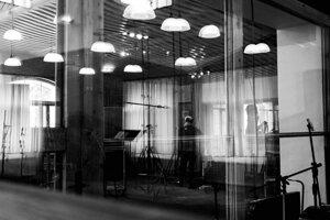 Október 2019 - Nahrávacie štúdio Sono records v Prahe