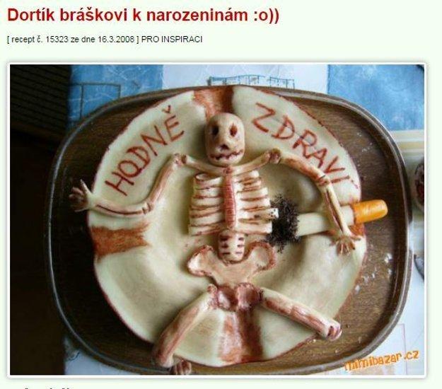 torta kostra Mimibazar.cz