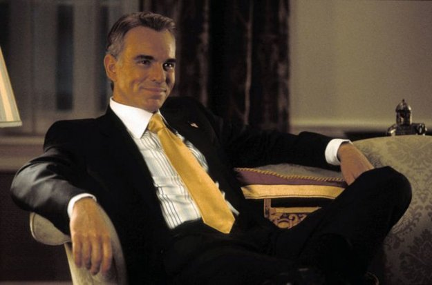 Billy Bob Thornton ako prezident USA.