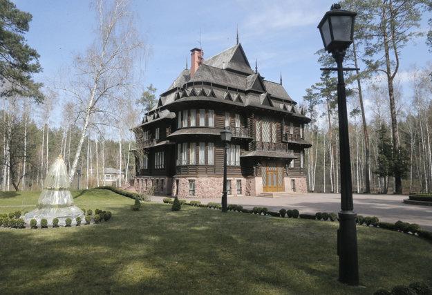 Janukovyčova chatka.