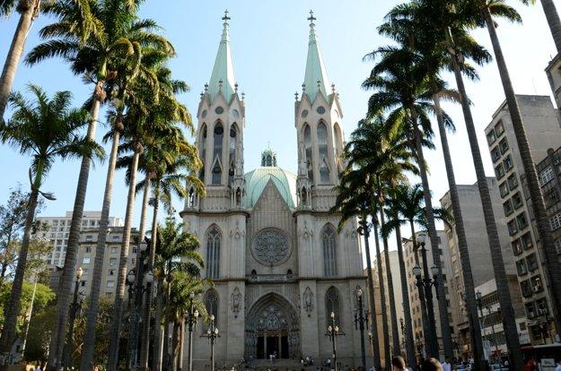 Metropolitná katedrála v São Paulo