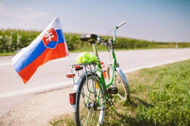 Liberta so slovenskou vlajkou pútala v Chorvátsku pozornosť najmä slovenských dovolenkárov.