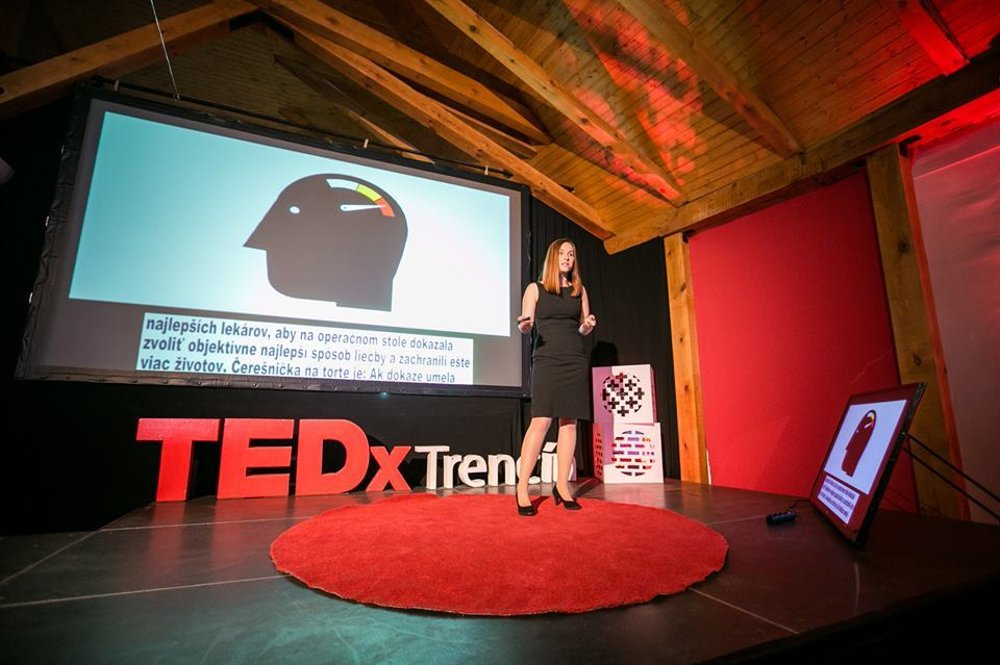 TedxTrenčín nebola prvá akcia, na ktorej Darya odprezentovala výskum umelej inteligencie.