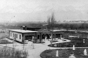 1900 - Huszov park, Poprad