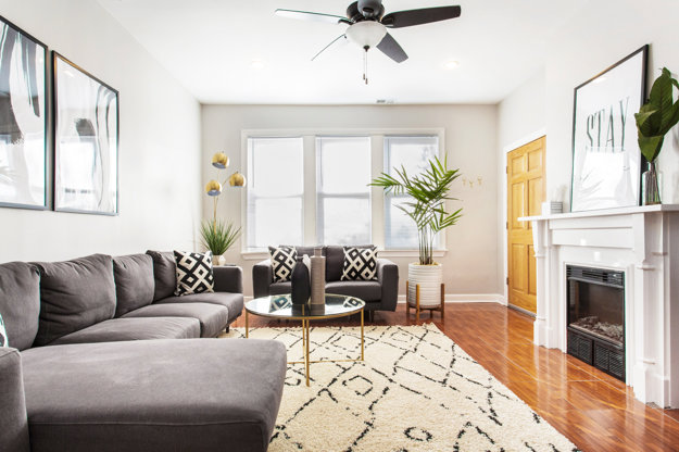 Moderný apartmán v Chicagu.
