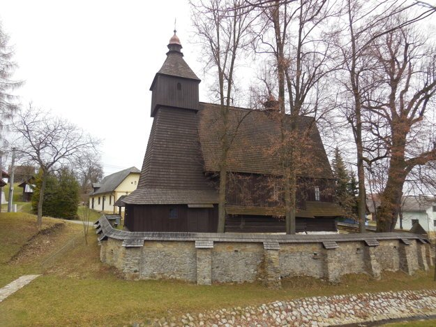 Kostolík v Hervatove