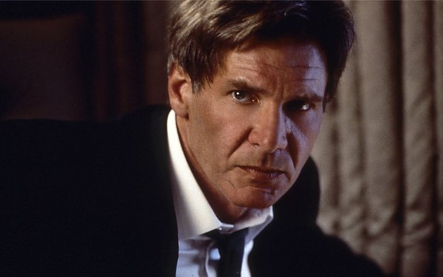 Harrison Ford ako prezident v Air Force One.