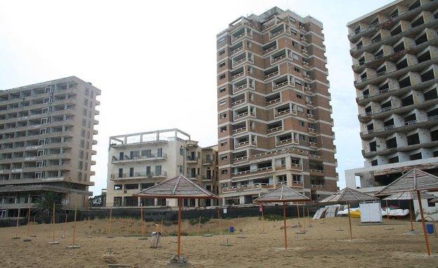 Varosha - opustené hotely