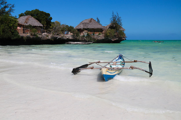Pláž Pongwe