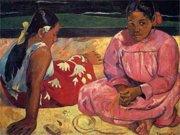 Paul Gauguin: Tahiťanky