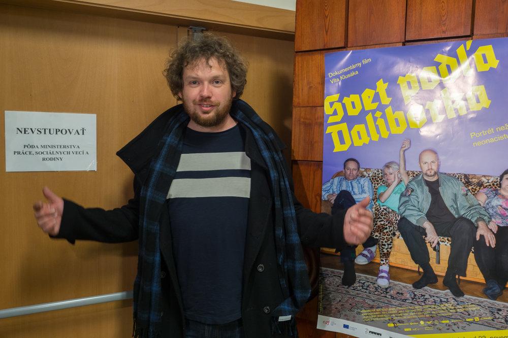 Vít Klusák na slovenskej festivalovej premiére filmu