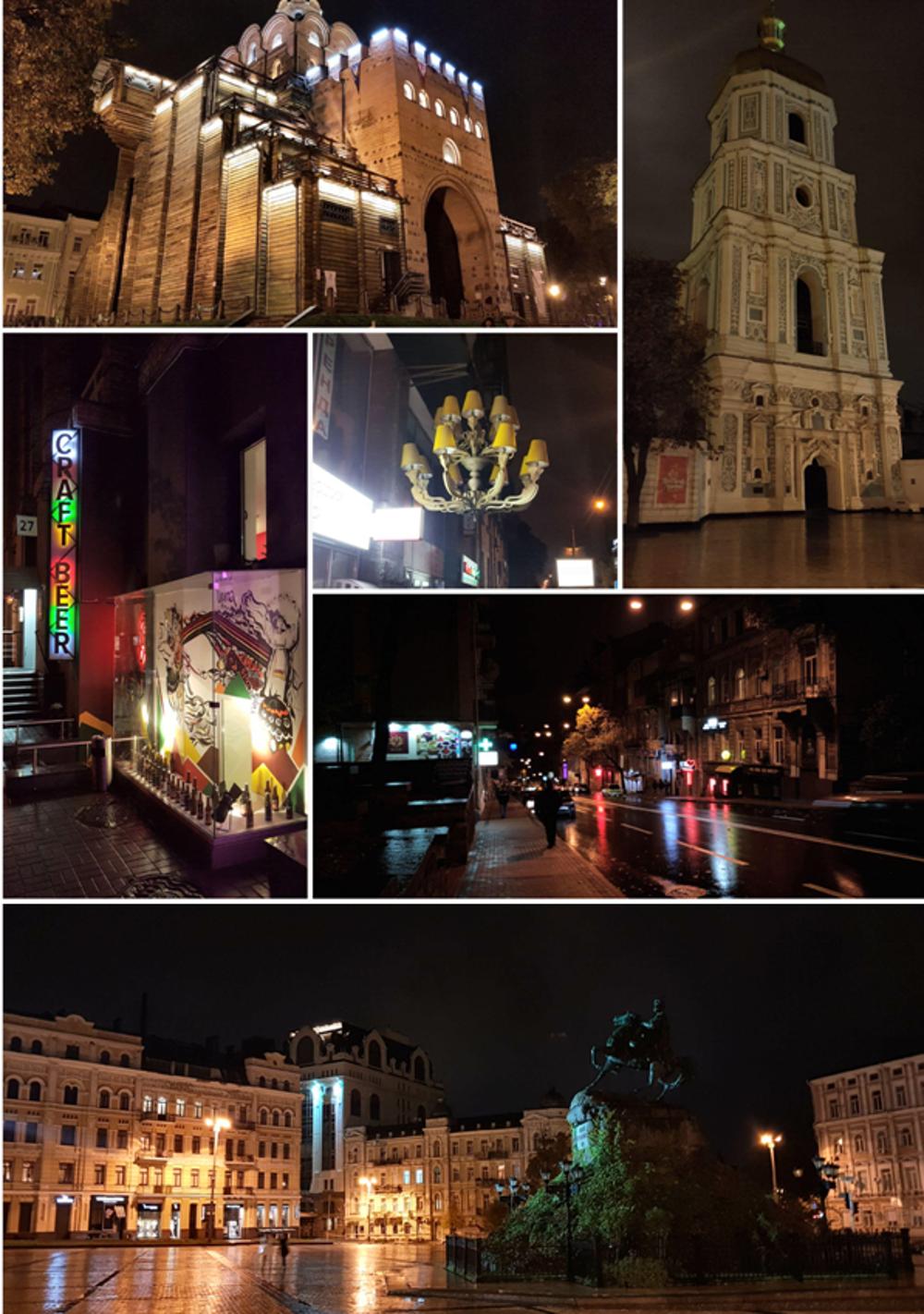 Nočný Kyjev má svoje čaro