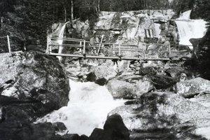 1906 - Mostík pri Obrovskom vodopáde