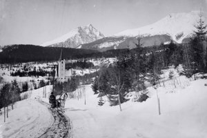 1907 - Evanjelický kostol, Veľká Lomnica