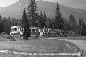 1977 - Tatranská železnica