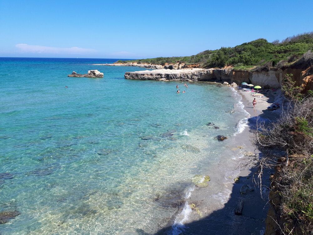 V okolí Otranta nájdete krásne pláže.